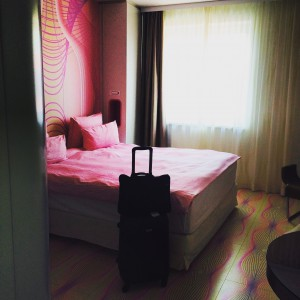 NHOW,NH,Hotel,Room,Funky,Pink