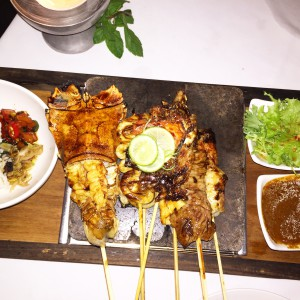 Satee, Bali, Ubud, Dinner, Food, delicious