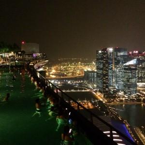 kudeta,singapore,infinitypool, infinity, pool, view, city, sunset