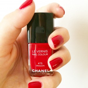 chanel, nail polis, nail, polish, red, dragon, dragon red