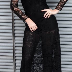 zara dress black naulover jacket ootd fashionblog