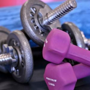 gum, sport, weights, pink