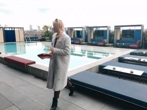 Milan, Fashion place, milano, fashion blogger, miriam ernst, ceresio 7, rooftop bar, restaurant, pool