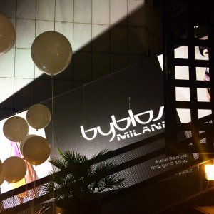 byblos, milan, milano, club, disco, fashion place, be-sparkling, be stylish