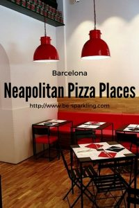 neapolitan pizza, places, barcelona, travel blogger