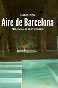 Aire de Barcelona, spa, hammam