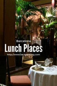 lunch, places, barcelona, spain, travel, travel blog, travel blogger