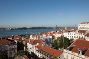 Lisbon, lisboa, portugal, bairro alto hotel, leading hotels of the world, 5 star, view