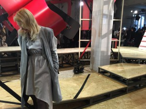Miriam Ernst, Fashion Blogger, MFW-2016, siramilano, look, outfit, coat, silver shoes