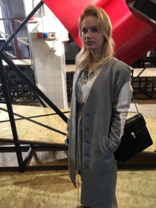 Miriam Ernst, Fashion Week, Fashion Blogger, MFW-2016, siramilano, look, outfit, coat, silver shoes