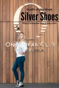 silver colour, shoes, Miriam Ernst, fashion blogger
