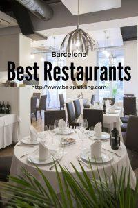 Barcelona, restaurants, luxury