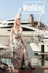Miriam Ernst, fashion blogger, dress, wedding