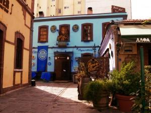 Greece, thessaloniki, bar, young, blue, travel 2016