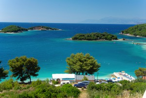 Albania, lonian sea, island, sun, beach, blue, sea, travel 2016