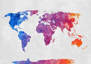 world map, world, map, colour, live, abroad
