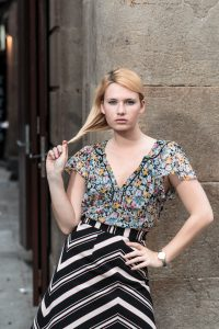 Miriam Ernst, Trend, Spring, Summer, Fashion Blogger, Print blocking, zara, blouse