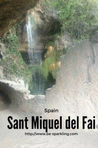 Spain, Sant Miquel del Fai, city's escape