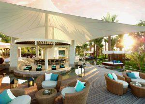 Baie Lounge, Dubai, dinner, travel blog, pool