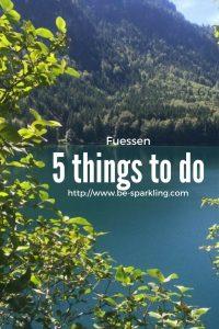 lake, fuessen, blogger, germany