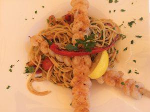 restaurant, riva, lunch,dinner, italian, shrimps