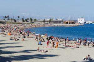 Barcelona, Beach, Sun, Summer