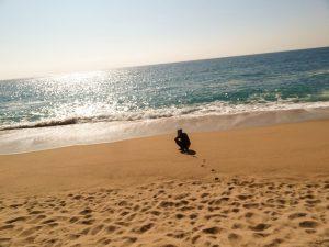 Barcelona, Beach, Sun, Winter