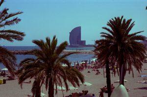 Barcelona, Beach, Sun