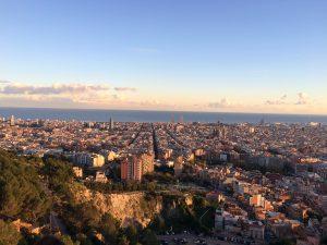 Barcelona, Camel, City view, top
