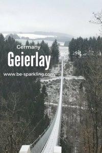 Landscape, Bridge, Geierlay, Germany