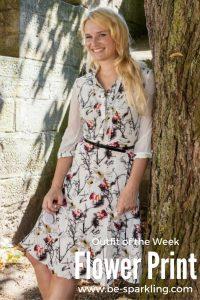 Flower Print, Dress, Summer