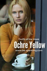 Ochre Yellow Blouse for Pinterest