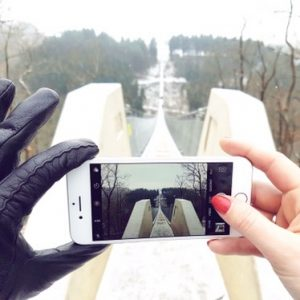Miriam Ernst, Travel Blogger, Geierlay, Suspension bridge, germany