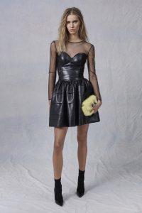 Prefall 17, Ermanno Scervino, black dress, sheer, clutch, model, fashion blog, fashion blogger