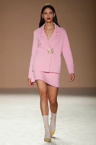 SS17, Naulover, pink, jacket, skirt, model, clothing, fashion blog, fashion blogger