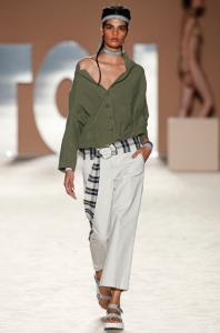 SS17, tcn, khaki, shirt, asymmetric, clothing, model, fashion blog, fashion blogger
