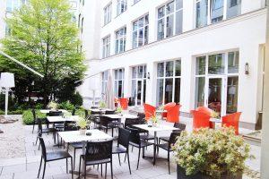 Adina Apartment Hotel, berlin, checkpoint charlie, terrace