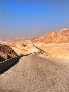 Sharm el Sheikh, Egypt, Royal Savoy, Savoy Group, desert, wüste, road, weg, strasse