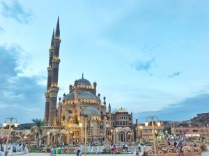 Sharm el Sheikh, Egypt, Royal Savoy, Savoy Group, moschee
