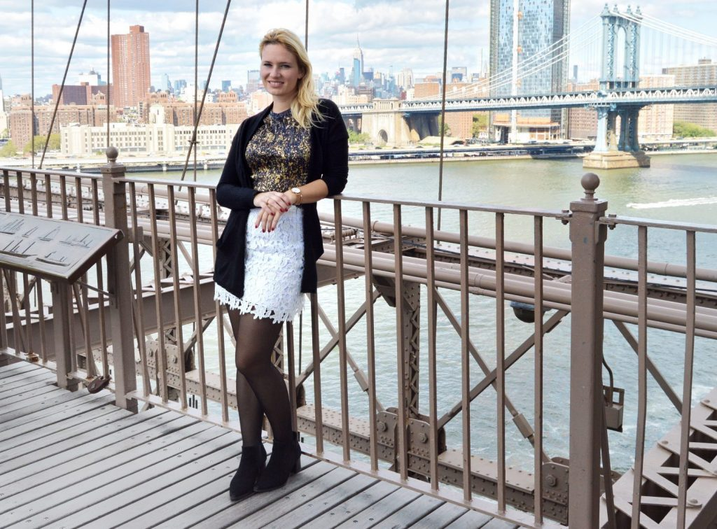 Fashion Week, NYFW, Miriam Ernst, Fashion blogger, Ralf Laurent, Peter Kaiser, schwarzes Kleid