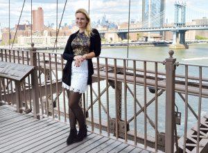 Fashion Week, NYFW, Miriam Ernst, Fashion blogger, Ralf Laurent, Peter Kaiser, schwarzes Kleid