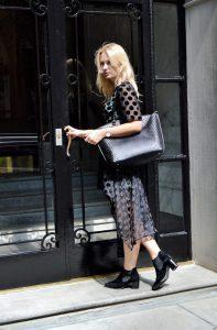 nyfw, new york, fashion week, fashion, fashion blog, fashion blogger, peter kaiser, shoes, fall, style, blond girl, miriam ernst, boots