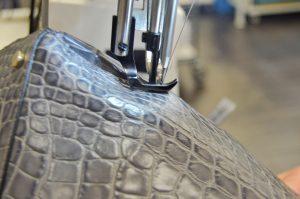 Handbag, picard, production, sewing
