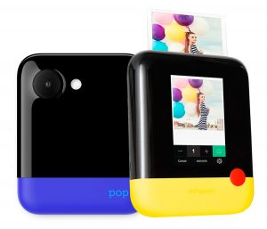 polaroid snap-touch, yellow, blue, christmas gift idea