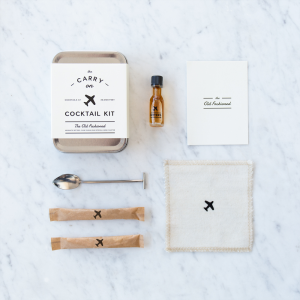 the-carry-on cocktail-kit, old fashioned, christmas gift