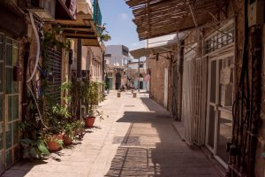 Tel Aviv, Israel, Strasse, Gasse
