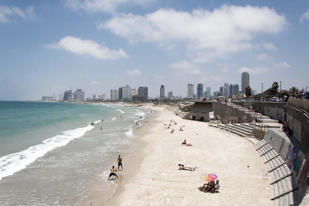 Tel Aviv, Stadt, Strand, Israel