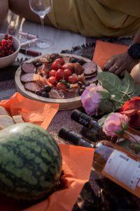 Essen, trinken, Provence, Wein, Melone, Früchte
