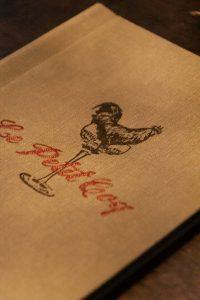 Karte, le petit coq, beste bar stuttgart