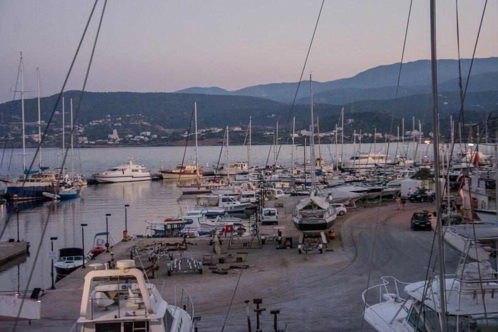 Agios Nikolaos, Hafen, Kreta, Yachten